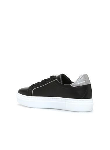 Divarese 5024311 Kadın Deri Sneaker Siyah